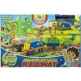 Dora the Explorer Fisher-Price Go Diego Go Animal Rescue Railway Track System by