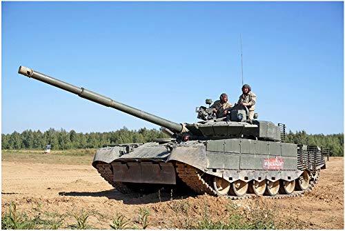 トランペッター 1/35 ロシア連邦軍 T-80BVM 主力戦車 プラモデル 09587