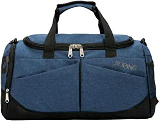 Large Capacity Fitness Bag Single Shoulder Diagonal Travel Bag Large Size: 502425cm Sports Bag Mens Tide Training Yoga Bag Wet and Dry Separation Swimming Bag