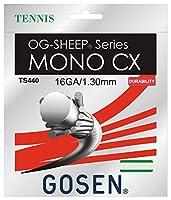 ゴーセン(GOSEN) MONO CX 16(1.30mm) 12.2m TS440 ホワイト 130