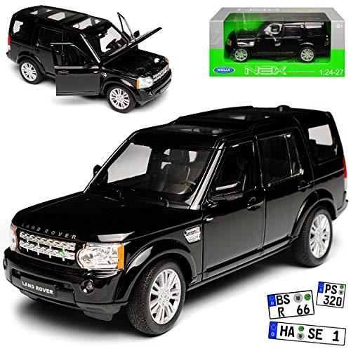 bester der welt Land Rover Discovery 4 Schwarz 4. Generation 2009-20171 / 24 Welly Automodell… 2021