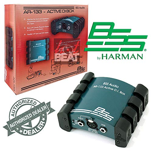 BSS Audio AR-133 Active DI Box Review