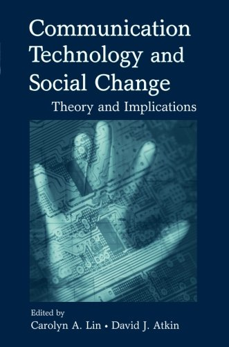 Communication Technology And Social Change (Routledge...