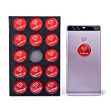 15 Pack EMF Protection Sticker Shield-Multi-Directional Shielding Technology EMF and EMR Sticker Protection Advanced Electronics EMF and EMR Radiation Protection Shield