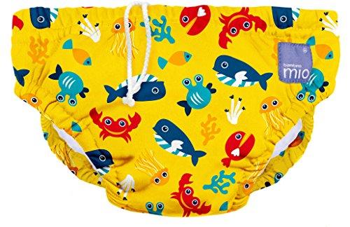 Bambino Mio Schwimmwindel SWPL DSY, Meerestiere Gelb, L (1-2 Jahre)
