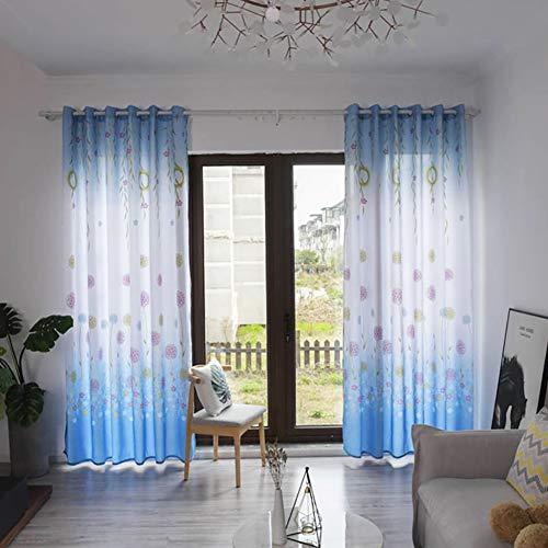 Thermisch geïsoleerde Grommet black-out gordijnen voor slaapkamer, ramen behandeling Home Decor gordijnen voor woonkamer, geluidsisolerend gordijn drapiert, 1 paar