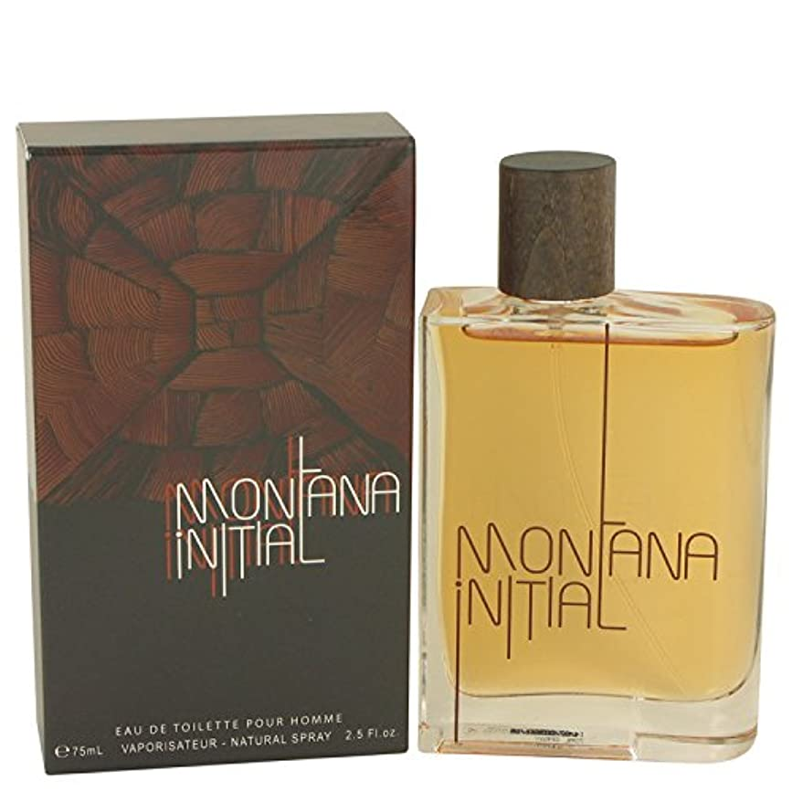 牛肉乏しいギャラリーMontana Initial by Montana Eau De Toilette Spray 2.5 oz