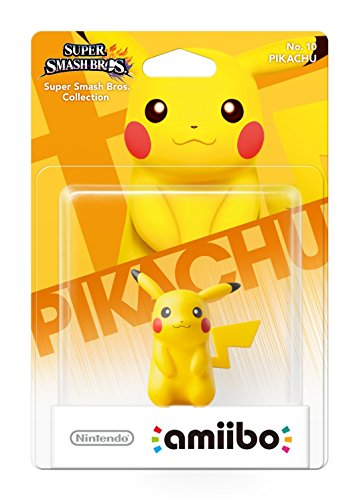 Smash Pikachu Amiibo Figur