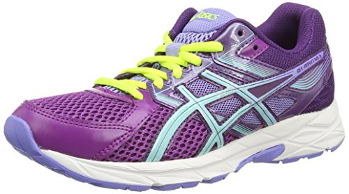 Asics Gel-Contend 3, Zapatillas de Running para Mujer, Morado Grape Aqua Splash Lavender 3667, 37.5 EU