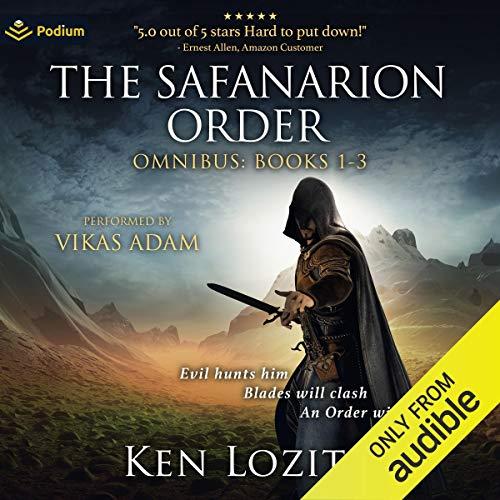 The Safanarion Order Omnibus, Books 1-3 Titelbild