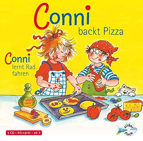 Schneider, Liane : Conni backt Pizza / Conni lernt Rad Fahren, 1 Audio-CD: 1 CD