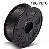 【Well Performance】-PETG Filament is not easy to Brittle,with Well Toughness,Good Acid,Alkali Resistance,Excellent Toughness,Weather Resistance & Good Adhesion. 【Low Shrinkage Rate】-PETG Filament is kind of Environmental Protection,Low Shrinkage Rate,...