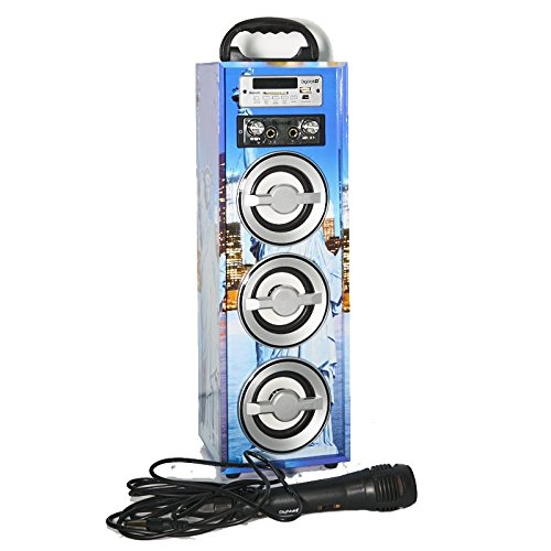 Karaoke DigiVolt HIFI-21 by MovilCom | Altavoz Bluetooth Reproductor mp3 Reproductor Multimedia...