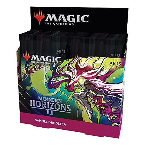 Magic the Gathering Modern Horizons 2-Juego de Cartas coleccionables (12 Paquetes) (Wizards of The Coast D05851000)