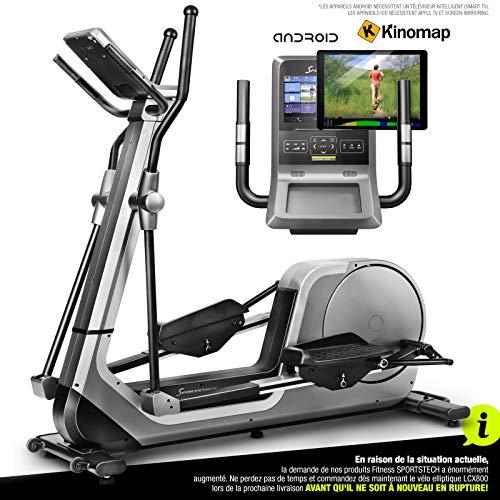 Sportstech LCX800 Vélo elliptique- Marque de qualité Allemande - Vidéo Events et Console...