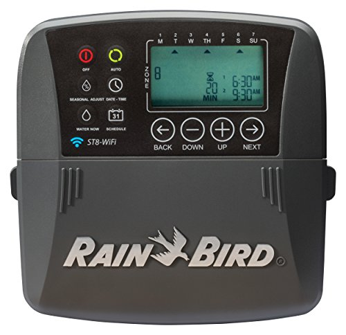 Rain Bird ST8I-WIFI 8 Station WiFi Timer, Indoor (Discontinued by Manufacturer; replaced by ST8I-2.0)