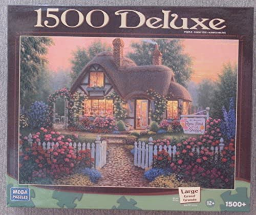 1500 Deluxe Puzzle Rosa Petal Gift Shoppe by Mega Puzzles