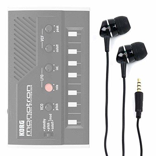 DURAGADGET Auriculares para Sintetizador Korg MONOTRON/Korg