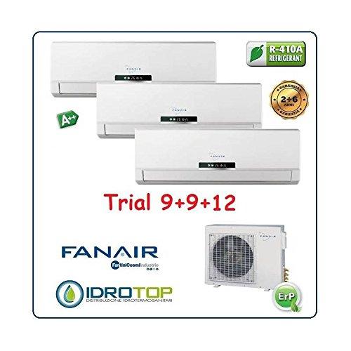 Fanair-Fantini Cosmi Climatizzatore Trial 3 Split