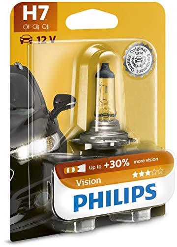 Philips 12972PRB1 Vision +30% H7 Scheinwerferlampe 12 V, 55 W, 1er Blister