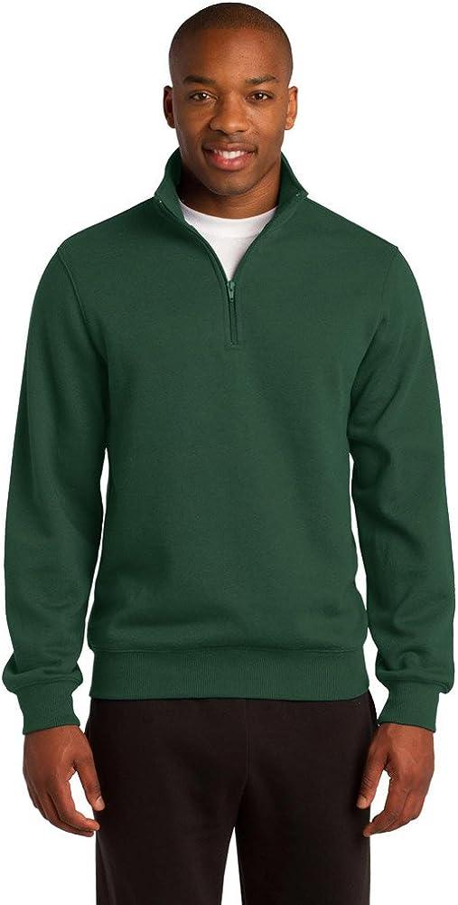 Sport-Tek Mens Tall 1/4-Zip Sweatshirt