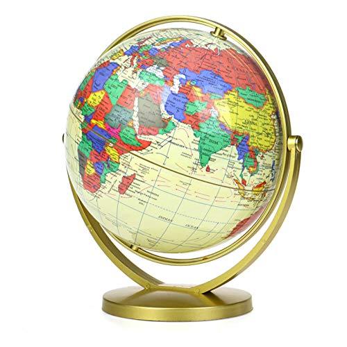 Globo Terráqueo Mapa Del Globo Terráqueo Mundial 360 ° Geografía Giratoria Juguete Educativo Decoración Oficina En Casa Oficina De Regalo Suministros De Oficina