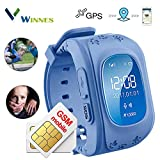 Kids Smartwatch, Winnes GPS Tracker Watch for Children with SOS Button GPS Watch