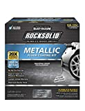 Rust-Oleum 299743 RockSolid Metallic Garage Floor...