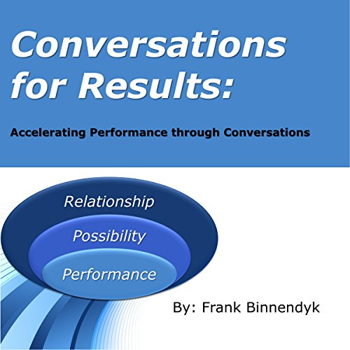 Conversations for Results audiobook cover art