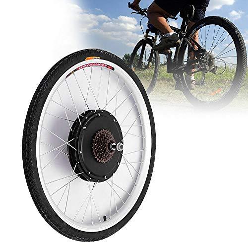 "OU BEST CHOOSE E-Bike Conversion Kit 26\"" Zoll Hinterrad Elektrofahrrad Umbausatz Rear Wheel Hub Motor (48V 1000W)"