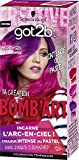 Schwarzkopf - Got2B - Bomb'Art - Coloration Semi Permanente Cheveux - Arc-En-Ciel 110 La Chaleureuse - 20 ml