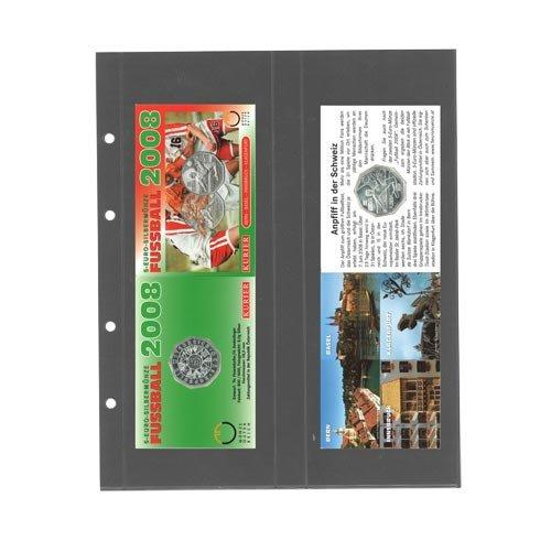 SAFE 7398 PA Münz-Folder-BL. per 5