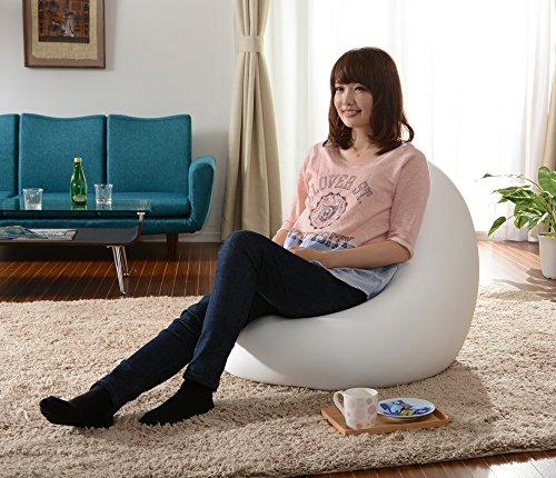 セルタン日本製ビーズクッション和楽の雫LサイズダリアンレッドA546a-563RED/572IV