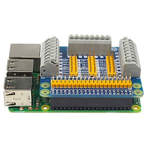 Wivarra GPIo Erweiterungs Karten Erweiterungs Modul für Roboter DIY Experiment Test Kompatibler Raspberry Pi 4B / 3B + / 3B