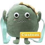 Nombre Personalizado Correa para niños Monedero Adolescente para niña Crossbody Handbag Adolescente Mini Monedero (Color : Green, Size : One Size)