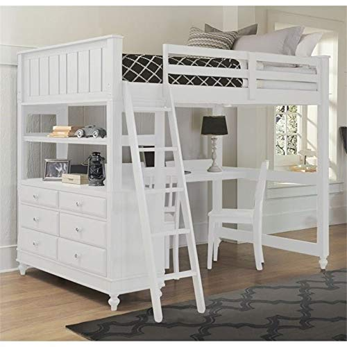 Product Image of the Pemberly Row Wood Loft Bed