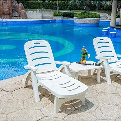 no brand FYTVHVB Pliable Loisirs en Plein Air Lit Hôtel Piscine Chaise De Plage Siesta Chaise Meubles De Maison