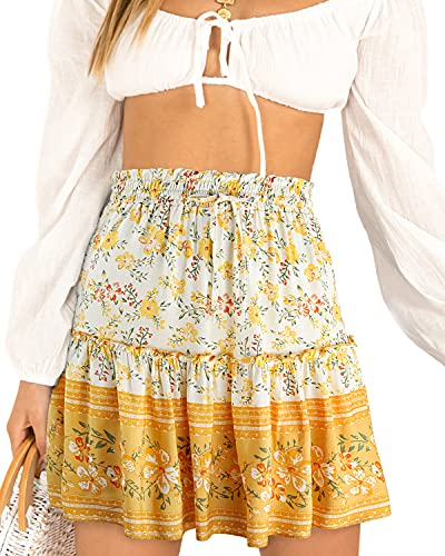 (50% OFF) Alley Ladies High Waist Ruffle Skirt $11.50 – Coupon Code