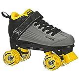 Pacer Comet Quad Kids Roller Skate, with Light Up Wheels, P973, Black sz 4 inline skates for boys May, 2021