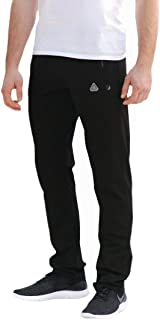 SCR Men's Workout Activewear Pants Athletic Sweatpants Long Inseam Black Grey Blue Navy 30L 32L 34L 36L 38L