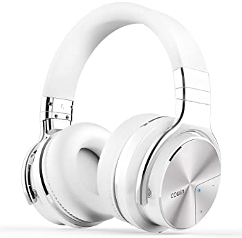 COWIN E7 PRO [Upgraded] Active Noise Cancelling Headphones Bluetooth Headphones with Microphone/Deep Bass Wireless He...