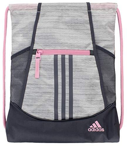 adidas Alliance II Sackpack (One Size, Two Tone White/True Pink/Onix)