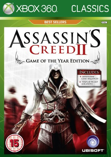 Assassins Creed 2: Game of The Year - Classics Edition (Xbox 360) [Importación inglesa]
