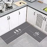 OPLJ Alfombra de Cocina Lavable Moderna y Simple, Alfombra Antideslizante de baño, Alfombra de Puerta de Entrada de Dormitorio de Sala de Estar en casa A1 50x80cm