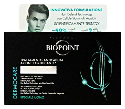 Biopoint Trattamento Anticaduta Uomo - 12 Fiale x 6 ml.