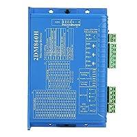 ステッパーモーターコントローラCNC 2DM860Hデジタル2位相ステッピングモータードライバMicroSTEPコントローラー