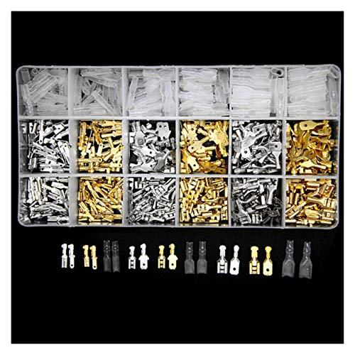 XIAOSHI Little Oriental 540 Teile/Set isolierte elektrische draht crimpterinale 2,8/4,8/6,3mm Spatenanschlüsse Sortimentset mit Box