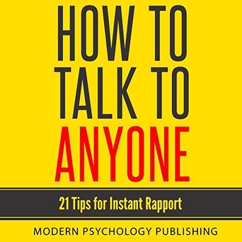How to Talk to Anyone audiobook cover art