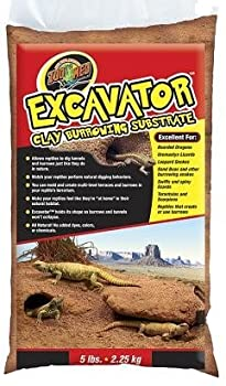 zoo med reptile excavator clay burrowing substrate