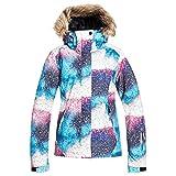 Roxy Jet Ski Snow Jacket True Black Eternal Night SM (US 3-5)